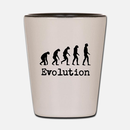Darwin Evolution Design Shot Glass