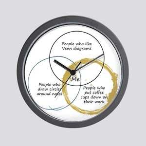 Diagram wall clocks cafepress venn diagram of me wall clock ccuart Image collections