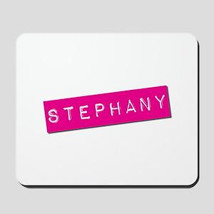 Stephany Punchtape Mousepad