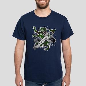 Davidson Tartan Lion Dark T-Shirt