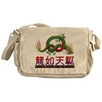 Dragon tattoo Messenger Bag