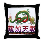 Dragon tattoo Throw Pillow