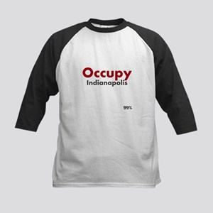 Occupy Indianapolis Kids Baseball Jersey