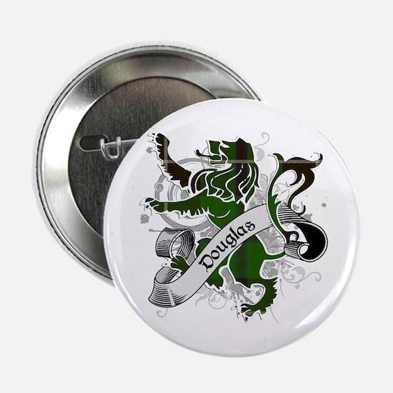 """Douglas Tartan Lion 2.25"""" Button"""
