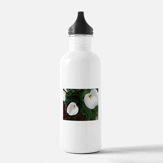 Calla lily trio Water Bottle
