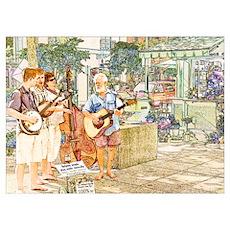 Abbott Family Musicians Poster