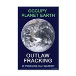 Occupy Planet Earth: Outlaw Mini Poster Print