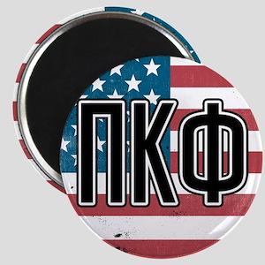 Pi Kappa Phi Flag Magnet