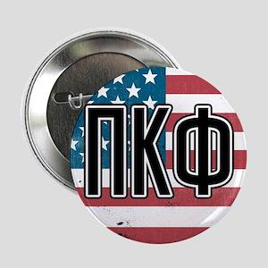 """Pi Kappa Phi Flag 2.25"""" Button"""