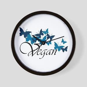 Vegan Wave Wall Clock