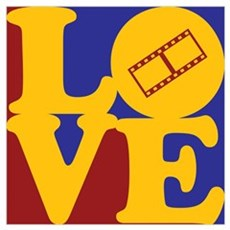 Video Editing Love Poster