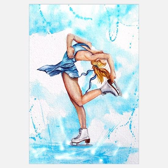 Blue Dream Ice Skater