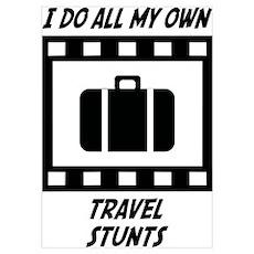 Travel Stunts Poster