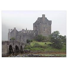 """""""Eilean Donan Castle"""" Poster"""