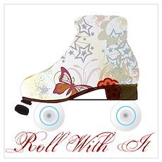 Roller Skater Poster