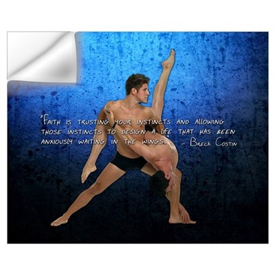 """Instincts"" Dance 16 x 20 Wall Decal"