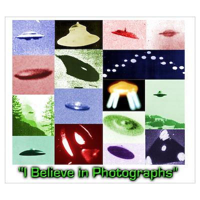 UFO Photos I Believe Poster