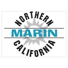 Marin California Poster