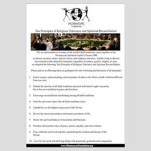 10PrinicplesReligiousTolerance&SpiritualDiversity