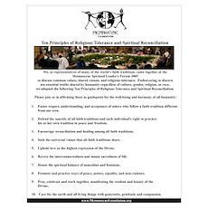 10PrinicplesReligiousTolerance&SpiritualDiversity Poster