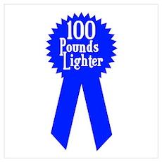 100 Pounds Award Poster