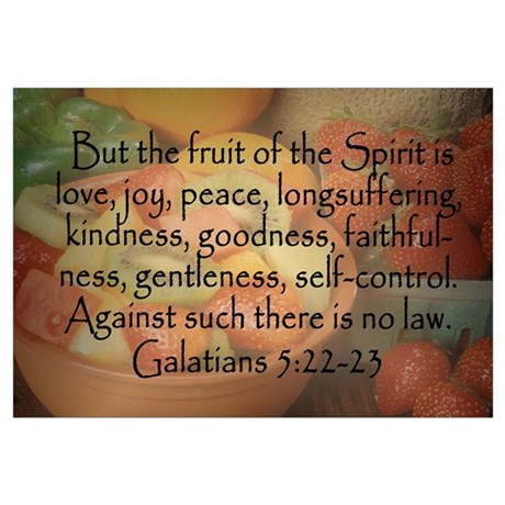 Unique Christian Wall Art $12.99. Temporarily Out Of Stock. Fruit Of The  Spirit Galatians 5