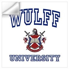 WULFF University Wall Decal