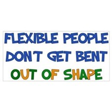 Flexible People Poster