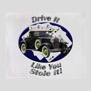Ford Model A Throw Blanket