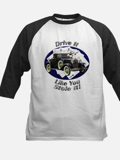Ford Model A Kids Baseball Jersey