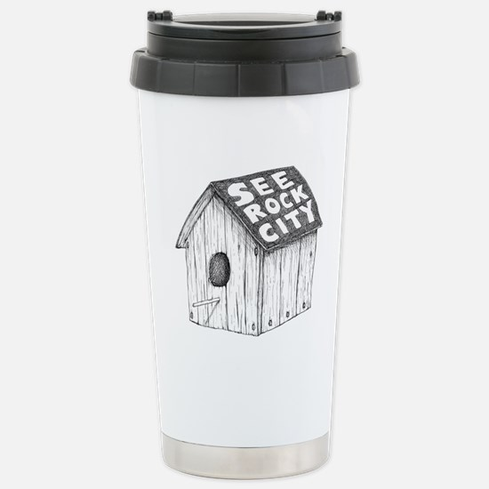 See Rock City Stainless Steel Travel Mug