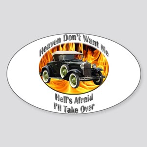 Ford Model A Sticker (Oval 10 pk)