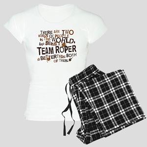 Team Roper (Funny) Gift Women's Light Pajamas