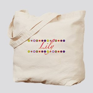 Lily with Flowers Tote Bag