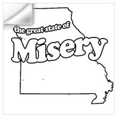 The Great State of Misery Wall Decal
