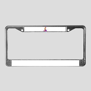 DADDYS GIRL License Plate Frame
