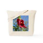 Hollyhocks Tote Bag