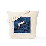 American Great White Pelicans Tote Bag