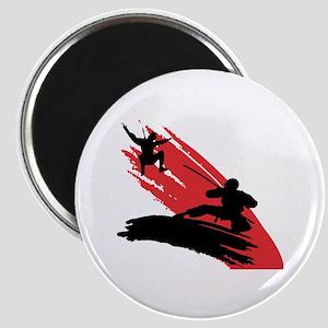 Fighting Ninja's Magnet