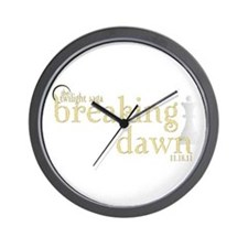 Breaking Dawn 2 Wall Clock