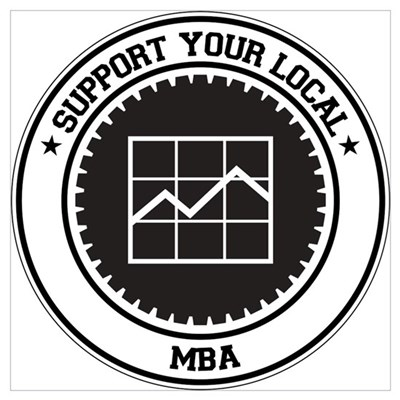 Support MBA Framed Print