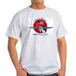 """""""Don't Mess with the U.S."""" Ash Grey T-Shirt"""