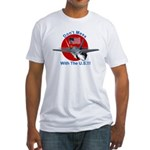 """""""Don't Mess with the U.S."""" Fitted T-Shirt"""