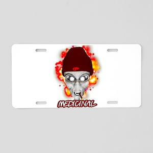 MEDICINAL Aluminum License Plate