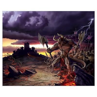 Black Conquering Horde Poster