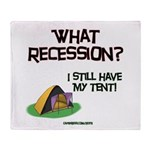 What Recession Throw Blanket