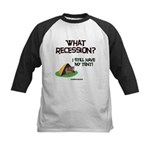 What Recession Kids Baseball Jersey