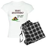 What Recession Women's Light Pajamas