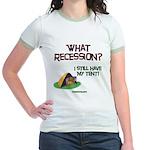 What Recession Jr. Ringer T-Shirt