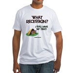 What Recession Fitted T-Shirt